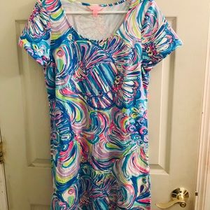 Gorgeous Lilly Pulitzer colorful dress M